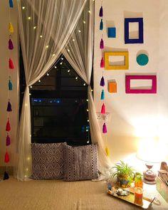 Indian Room Decor, Ethnic Home Decor, Home Decor Furniture, Home Decor Bedroom, Living Room Decor, Bedroom Signs, Bedroom Ideas, Master Bedroom, Pinterest Room Decor