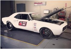 Wow check out Brandon Greene 1967 Ls3 powered protouring Camaro over at #westechperformance getting put on the dyno!!! #autocross#americanmusclecar#mastmotorsports #ls3#protouring#hotrod#musclecar#modernmusclecar#fbody#chevy#chevrolet#camaro#chevroletcamaro#optimabatteries #socal_camaros #restomod#schwartzperformance #stance#dyno by socal_camaros