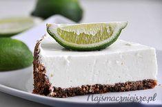 Sernik z limonką, limonka, sernik, jogurt, Cheesecake with lime, lime, cheesecake, yogurt