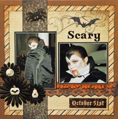 Scary...Halloween Layout