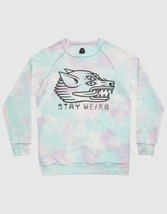 http://www.dropdead.co/products/stay-weird-sweater {want this so badly c:}
