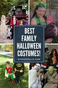 Themed family Halloween costumes to try this year! Dress up the whole family! #halloween #diyhalloween #halloweencostumes #family costumes #themedcostumes Lego Movie Costume, Star Wars Costumes, Baby Costumes, Cool Costumes, Halloween This Year, Halloween Photos, Halloween Kids, Baby Carrier Costume, Batman And Robin Costumes
