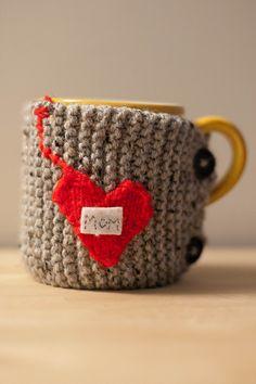 tea mug cozy. free pattern