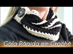 Amor e Arte em Crochê: GOLA RÁPIDA EM CROCHÊ PASSO A PASSO...