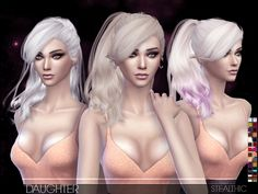 Daughter Female Hair by Stealthic at TSR • Sims 4 Updates