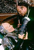 Peter Weller and Kurtwood Smith / RoboCop / 1987 directed by Paul Verhoeven [Orion Pictures Corporation] - Stock Photo