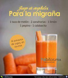 jugo con zanahoria, melon y calabacita