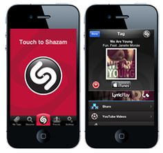 Shazam - Shazam a song you hear on the radio, share it on Facebook, download in iTunes or watch the clip on YouTube: Shazam!