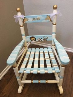 21 Best Hand Painted Kids Rocking Chairs Images In 2020