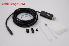 11.02$  Watch now - http://aliaqu.shopchina.info/go.php?t=32806770863 - HD 720P 6LEDs 5.5MM USB Endoscope Borescope Snake Inspection Pipe Tube Video MINI Camera IP67 Waterproof With 2M Flexible Cable  #bestbuy