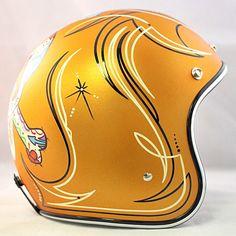 Custom Painted   Crown Helmets