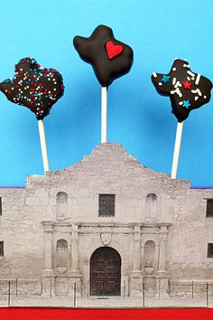 Texas Cake Pops! Could it get any better? Texas and Cake Pops together = genius idea