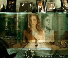 Fremione 11 - Memories by akaforbidden on DeviantArt Harry Potter Couples, Harry Potter Severus, James Potter, Harry Potter Characters, Harry Potter Fandom, Fred And Hermione, Hermione Granger, Severus Rogue, Bae