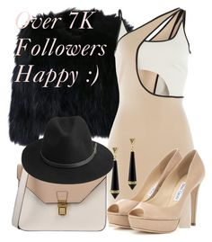 """""""Over 7000 Followers...Thx:)"""" by deedee-pekarik ❤ liked on Polyvore featuring H Brand, David Koma, 8, Jimmy Choo, BeckSöndergaard and House of Harlow 1960"""