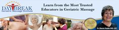 The DAYBREAK Geriatric Massage Institute is an organization dedicated to enhancing quality of life in order to make living more enjoyable for the elderly by teaching health care professionals the use of skillful hands-on work and current trends in aging.