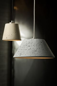 All of Urbi et Orbi's concrete lighting is handmade by local artisans in Athens, Greece.