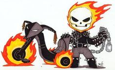 Chibi Ghost Rider