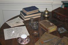 Joseph Conrad's desk.