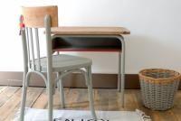 Bureau d'écolier vintage L'Atelier des greniers.com