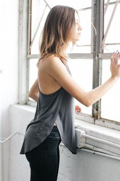 Live in Slouchy Tank