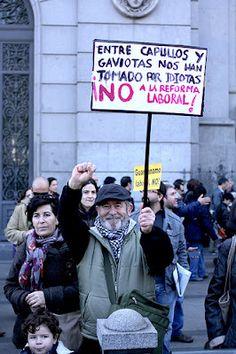 """esperemos que """"por lo menos"""" el derecho a la manifestación no sea recortado en España #15M"""