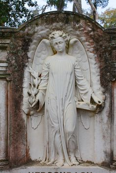 ☫ Angelic ☫  winged cemetery angels and zen statuary - Jeanie Sorrells Beach