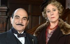 Poirot and Ariadne Oliver, who appears in several episodes and takes on the part of an able assistant. The character of Ariadne Oliver may very well be Agatha Christie's choice for herself.