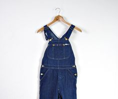 CRAZY SALE - 70s Lee MR Denim Overalls / Hip Hop Workwear Style / Men Size S by Only1Copy on Etsy