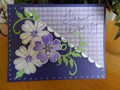 Dianne's cards--SU Flower Shop  sentiment-Endless Creations