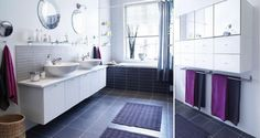Badezimmer Fliesen Design-Ideen-Ikea