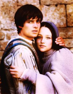 Olivia Hussey Romeo and Juliet Love Scene | ... Olivia Hussey, presumably during the filming of the wedding scene
