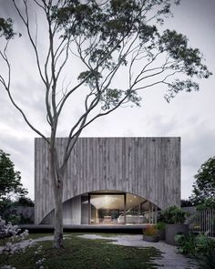 Home Design Drawing Hawthorn House by Edition Office - Located in the suburbs of Melbourne, Australia, Hawthorn House is a spacious concrete house designed by Australian architecture firm Edition Office in Monumental Architecture, Architecture Résidentielle, Australian Architecture, Amazing Architecture, Concrete Houses, Concrete Art, Concrete Structure, House And Home Magazine, Land Scape