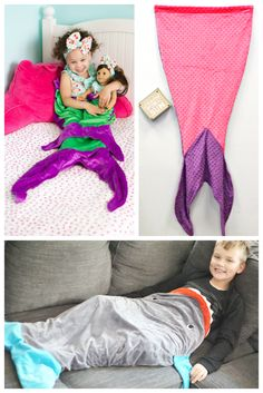 Sea Friends Blankets Priced From $9.00 for kids and dolls!