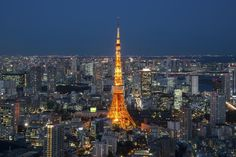 Tokyo Tower from The World Trade Center Pinterest users can get 20% off the ebook with this code: PINT20