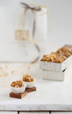 tOffee nut cereal flakes sweets