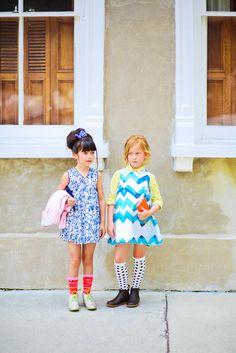 2 little fashionistas :)