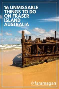 Discover the best things to do on Fraser Island, Australia. The world's largest sand island is home Fraser Island Australia, Time In Australia, Australia Travel, Backyard Camping, Beach Camping, Best Beaches To Visit, Sand Island, Camping Spots, Amazing Sunsets