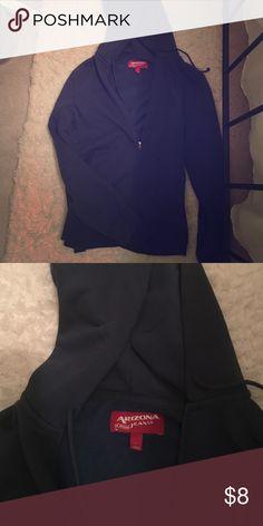 Arizona Jean Co. Blue Hoodie Great condition! Slightly oversized. Arizona Jean Company Tops Sweatshirts & Hoodies