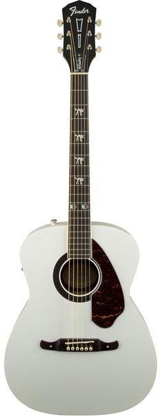Fender Tim Armstrong Hellcat Concert Acoustic-Electric Guitar www.guitaristica.org #electricguitar #guitars #guitaristica