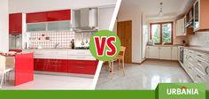 Nuestro #UrbaniaVS de hoy es: ¿Prefieres una cocina tradicional o una cocina moderna?