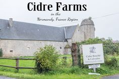 Cidre Farms in the Normandy, France region are one of the area's best kept secrets. There you'll be rewarded with locally made cidre, or fresh apple juice! Christmas In Paris, Normandy France, Apple Juice, France Travel, Day Trip, Farms, France Holland, Places To Go, Europe