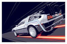 BTTF 1 - Regular Version by Craig Drake - Hero Complex Gallery