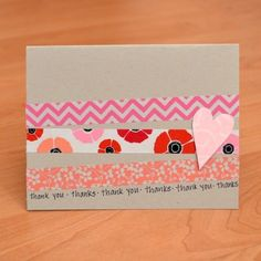 5-Minute Handmade Card | Creative Ways to Personalize with Washi Tape