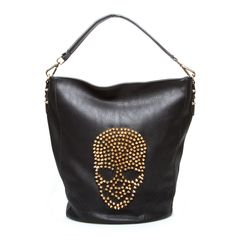 This shoulder bag is bad to the bone
