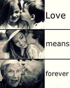 Love means forever,agree? #Quote #Love