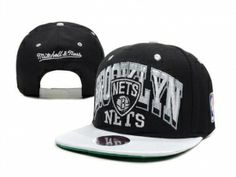 Brooklyn Nets Casquette Snapback Pas Cher Noir Mitchell And Ness : Casquette Pas Cher