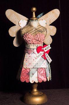 cupid  mini dress form