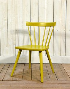 Cottage Life Sticks Chair in Maple Moss - Wooden Painted Chair - Oaksmith Interiors