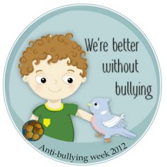 Anti-bullying week 2012 -  A Prayer those those being bullied. Cora is being bullied in school.