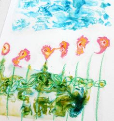 Sokerimaalaus Watercolor Paintings, Herbs, Sugar, Kids, Children, Watercolour Paintings, Herb, Water Colors, Baby Boys